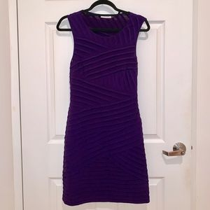 Purple Calvin Klein Dress